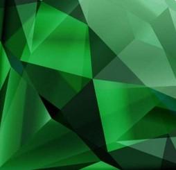 cristal vert